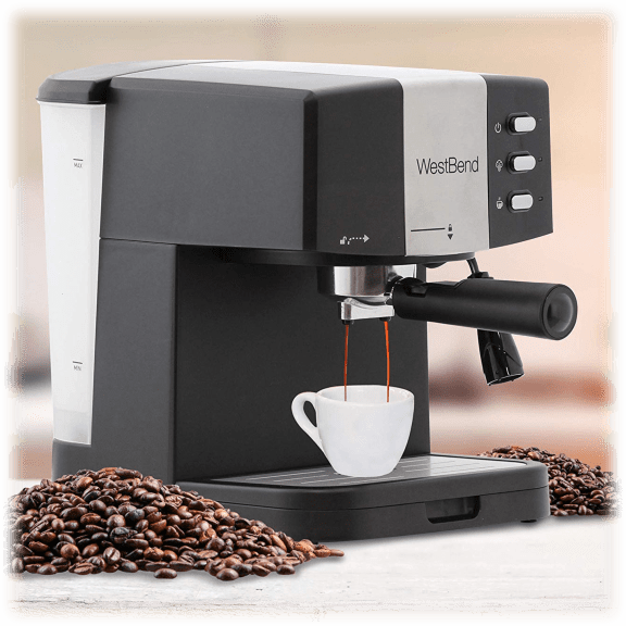 West Bend Espresso & Cappuccino Maker seen on Dish Nation