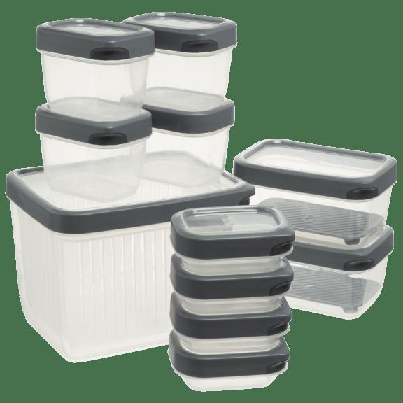 Geoffrey Zakarian 23-Piece Food Storage Canister Set