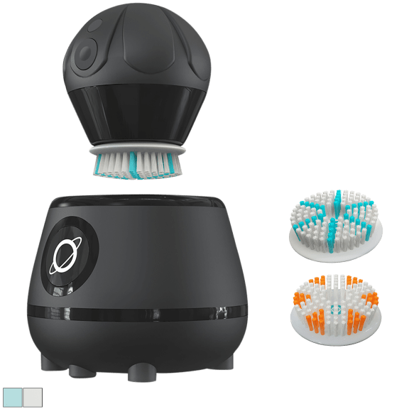 TAO Clean Orbital Facial Brush System with UV Sanitizing Base