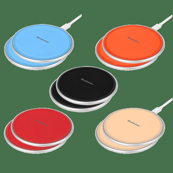 2-Pack: Brookstone 10W Qi Charging Pads