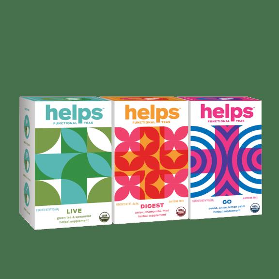 192-Pack: HELPS Organic Functional Herbal Teas