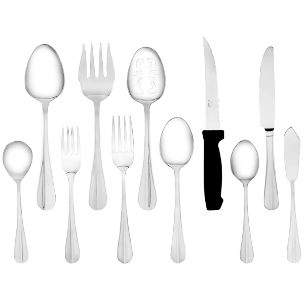 101-Piece Towle Living Hartford Flatware Set