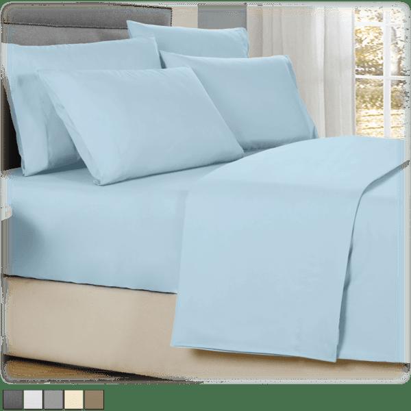 Kathy Ireland 4-Piece Cool Comfort Sheet Set