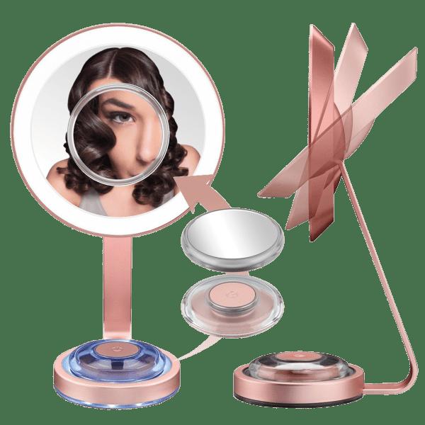 Conair LED 1X/10X Makeup Mirror