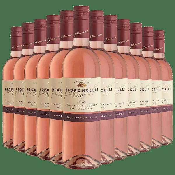 12-Bottles (1 Case) of Pedroncelli 2019 Rose Wine