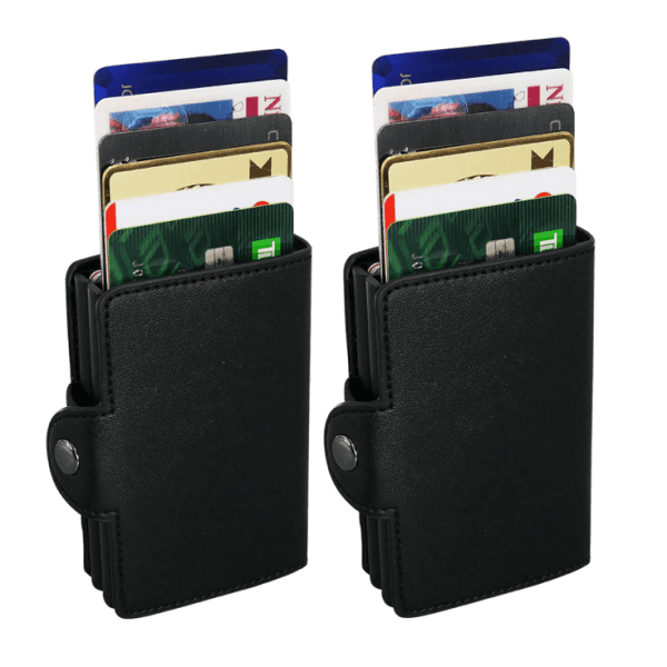 2-Pack Cascading Quick Card Wallets