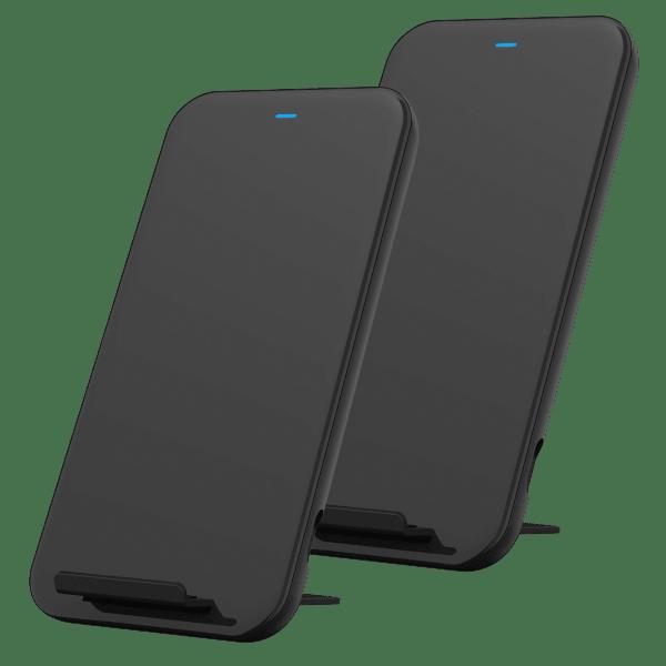 2-Pack Studio by Belkin 10W Wireless Rapid Charging Stand
