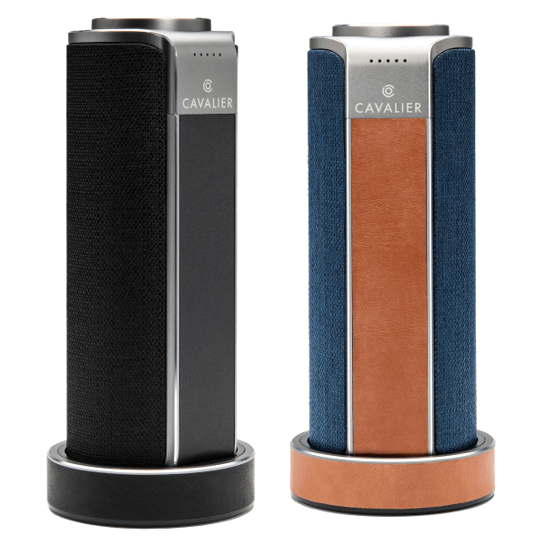 Cavalier Maverick Portable WiFi Speaker with Alexa & Charging Base