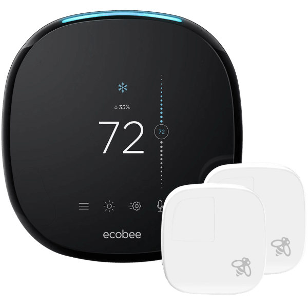 Eccobee4 Smart Home Thermostat with Extra Sensor