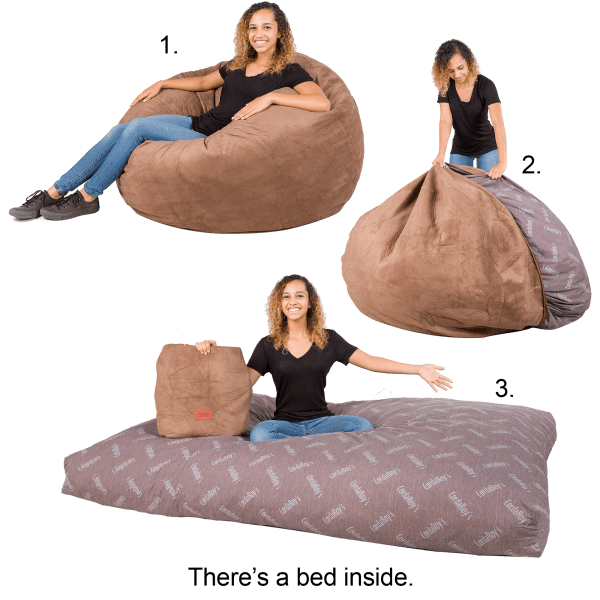 Super Cordaroys Convertible Beanbag Chair Bed Ibusinesslaw Wood Chair Design Ideas Ibusinesslaworg
