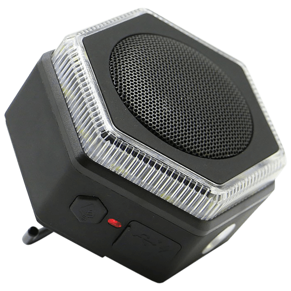 Hybridlight HEX Bluetooth Speaker, FM Radio, Lantern, Flashlight & Charger