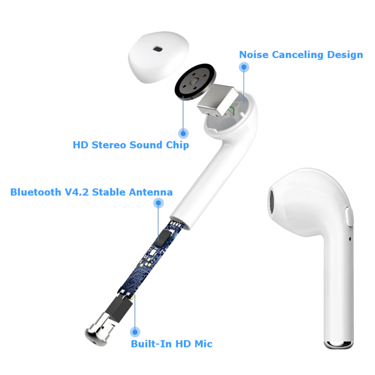 Airbuds True Wireless Stereo Bluetooth Earbuds with Charging