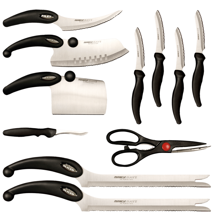 11-Piece Miracle Blade III Perfection Series Cutlery Set