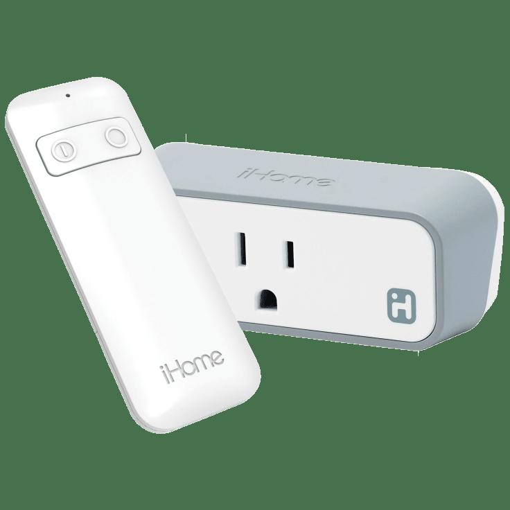iHome iSP8 Smart Plug with Remote Control