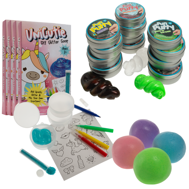 17-Piece Playful Putty Bundle