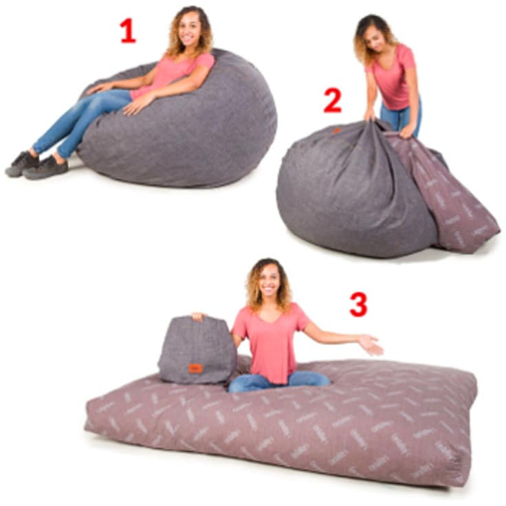 Amazing Cordaroys Convertible Bean Bag Chair Full Size Bed Dailytribune Chair Design For Home Dailytribuneorg