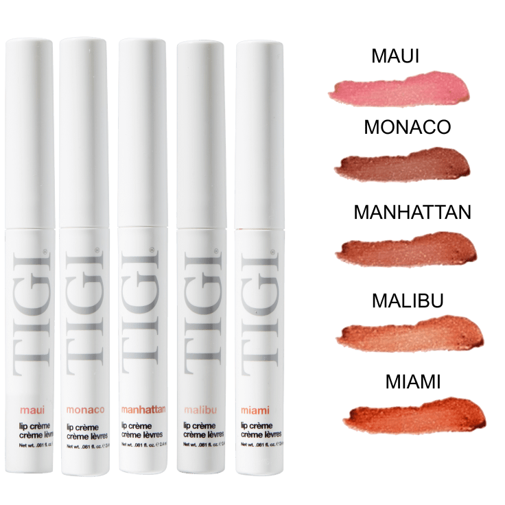 5-Pack Tigi Cosmetics Lip Creme