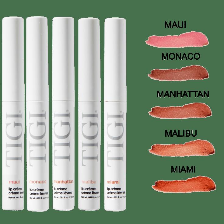 10-Pack TIGI Lip Creme Assortment