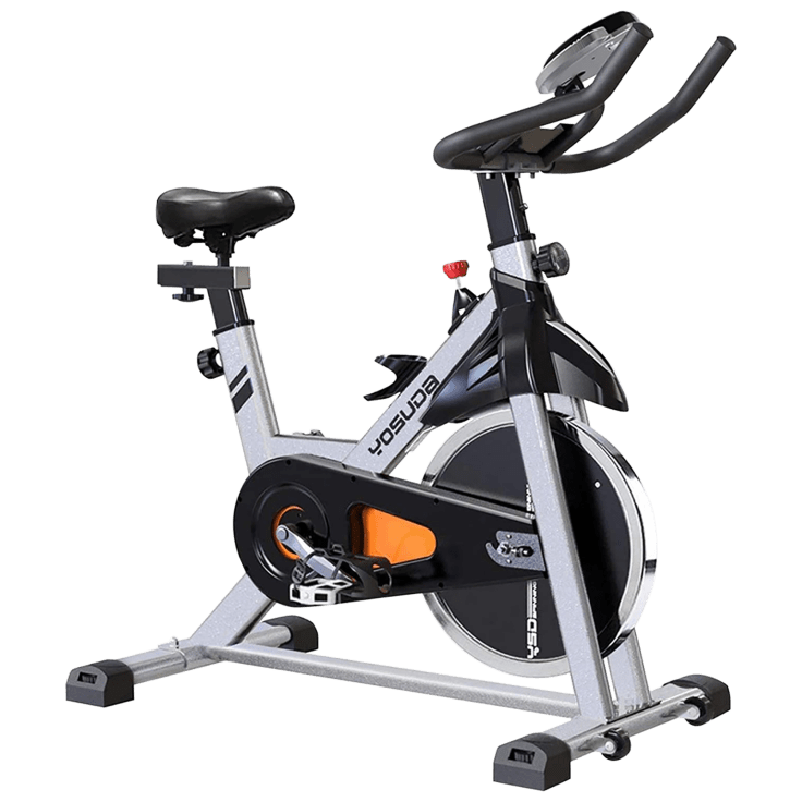 Yosuda Indoor Stationary Cycling Bike with iPad Mount