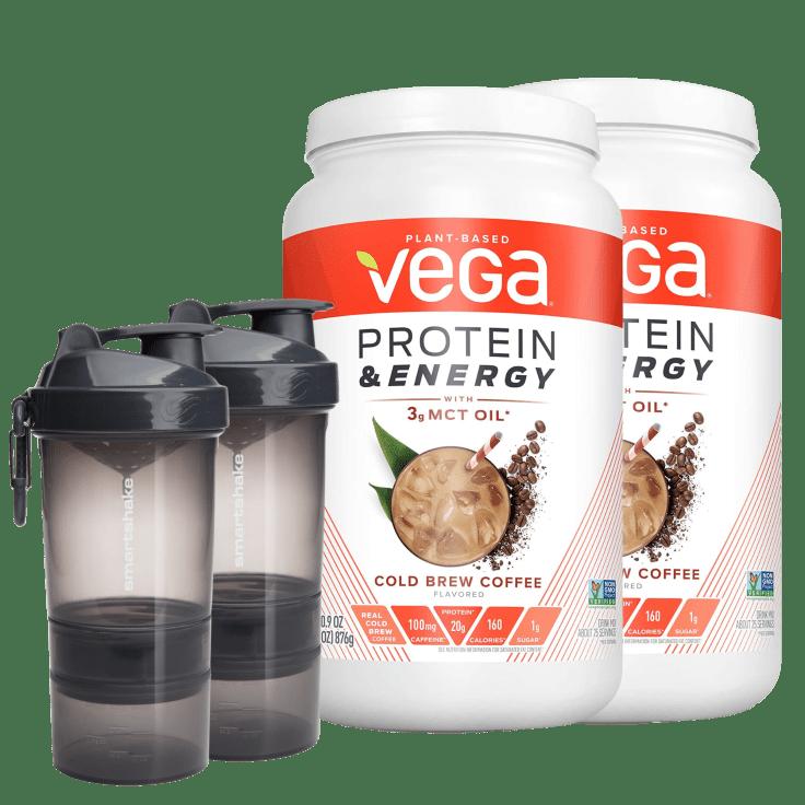 2-Pack VEGA Protein & SmartShake Bundle