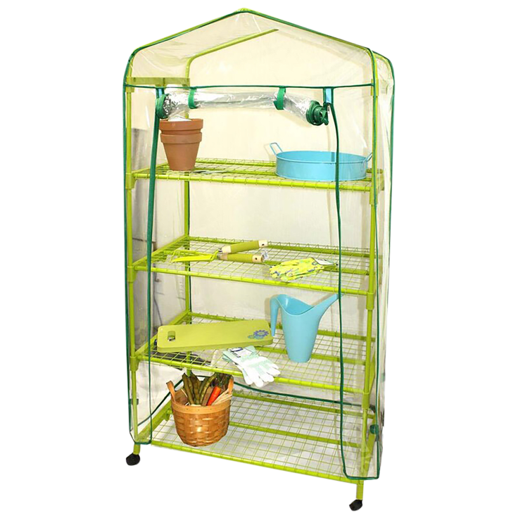 Midwest Gloves & Gear Growing Rack Greenhouse