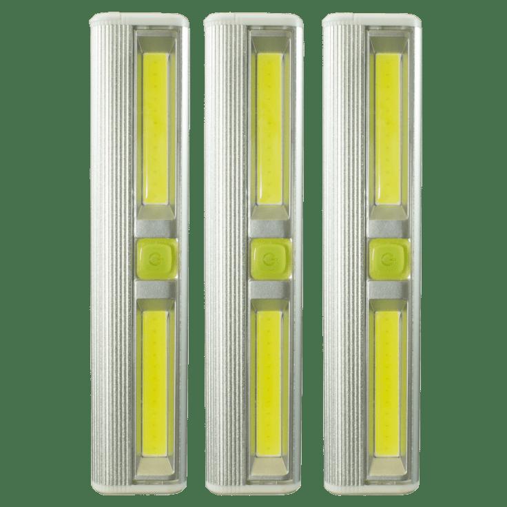 3-Pack Litezall 200 Lumen Wireless LED Light Bar