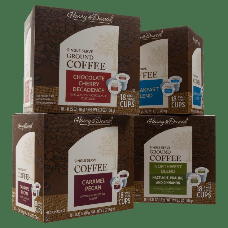 72-Pack Harry & David Individual Coffee Cups