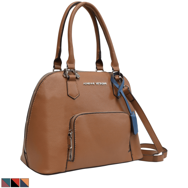 Adrienne Vittadini Kips Bay Collection Dome Satchel