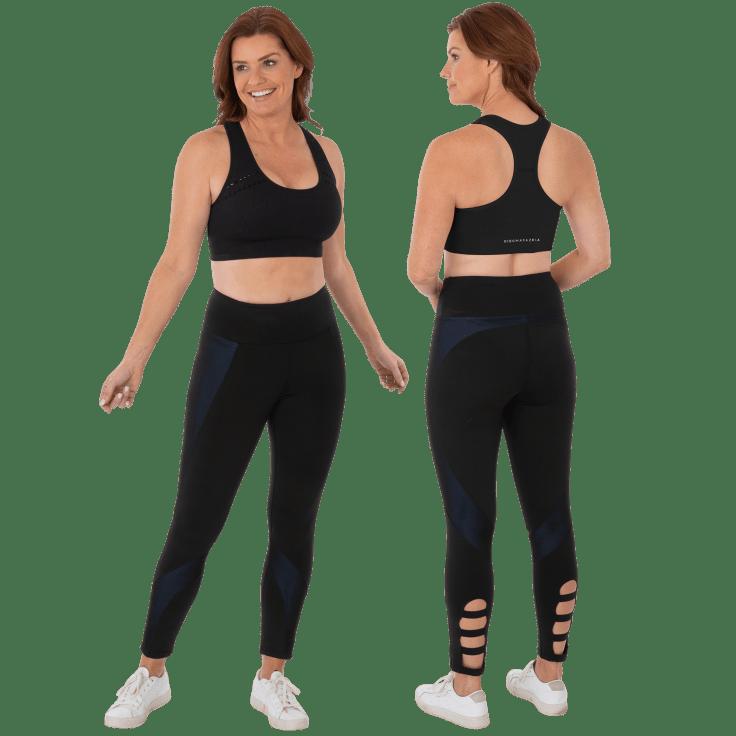 BCBGMAXAZRIA Women's Allegra Yoga Fitness Athletic Leggings