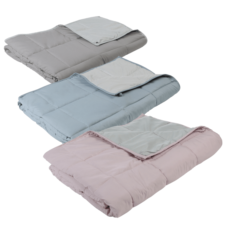 Great Bay Home 15lb Reversible Weighted Blanket