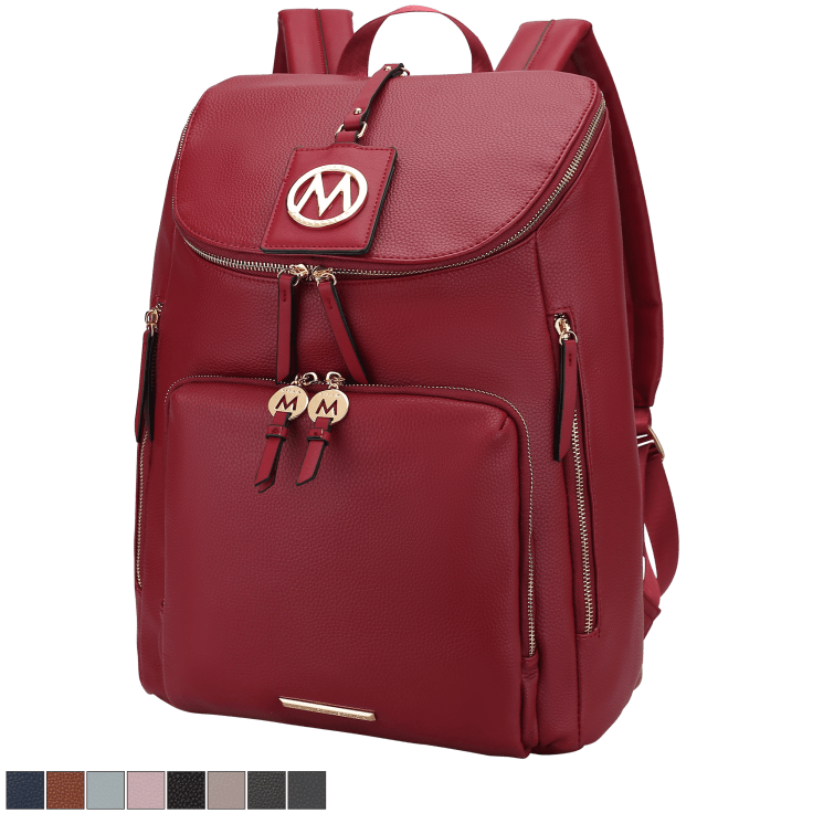 MKF Collection Angela Large Backpack by Mia K