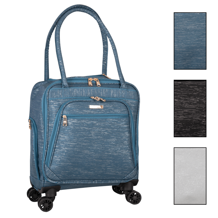 "Jenni Chan Bryant 15"" Underseater Rolling Tote"