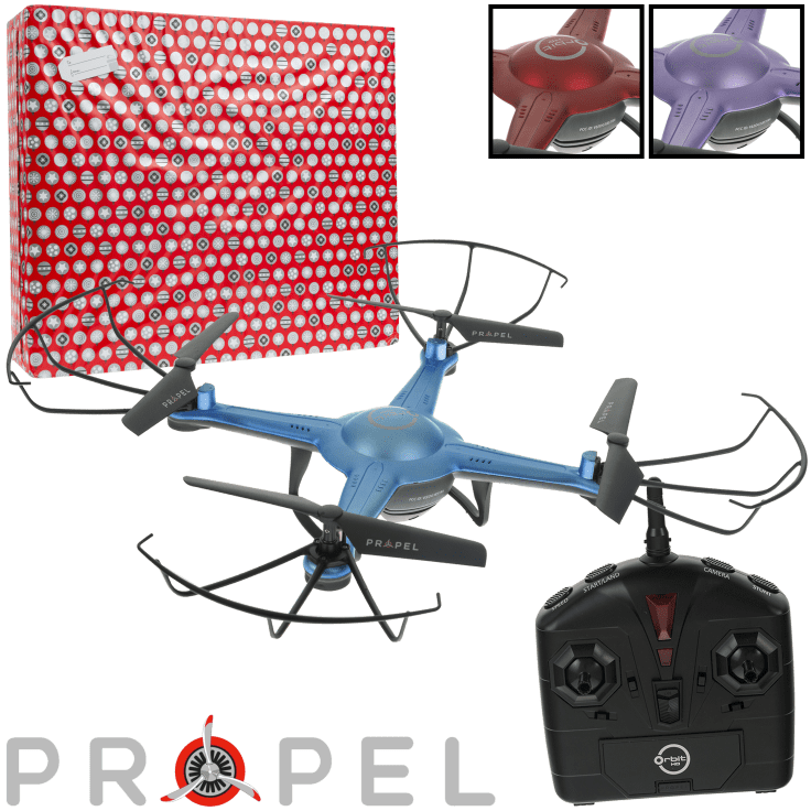 Propel Rc Orbit 2 4 Ghz Video Drone With Hd Camera Gift Wrapped