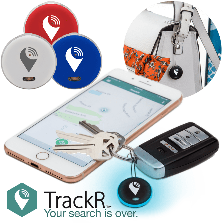 3-Pack TrackR Pixel Bluetooth Tracking Device