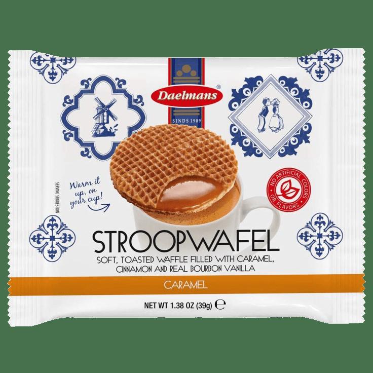 96-Pack Daelmans Jumbo Caramel Stroopwafels