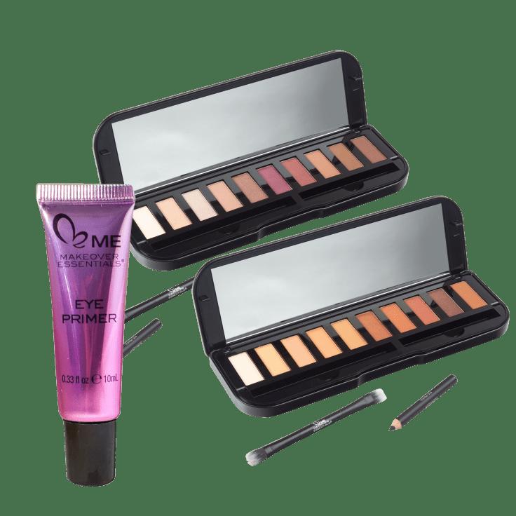3-Piece Makeover Essentials Eyeshadow Palettes with Eye Primer