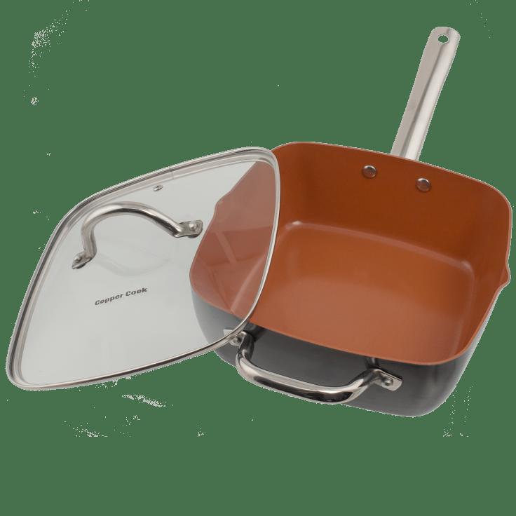 Copper Cook 4 Piece Pan