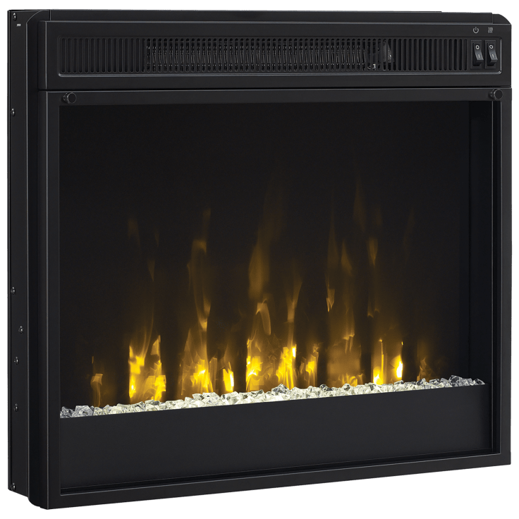 "ChimneyFree 23"" Modern Electric Fireplace Heater Insert"