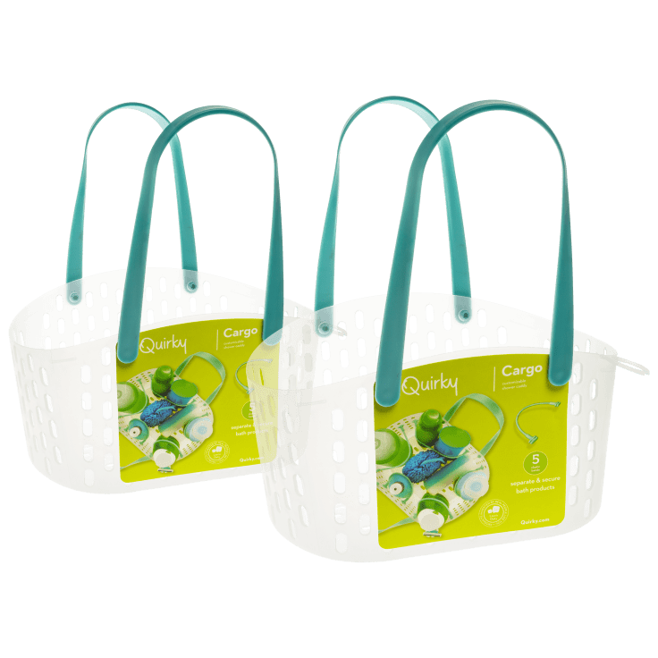 2-Pack Quirky Cargo Shower Caddy