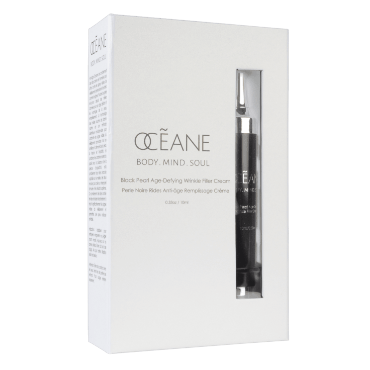 Oceane Black Pearl Age-Defying Wrinkle Filler Cream Syringe