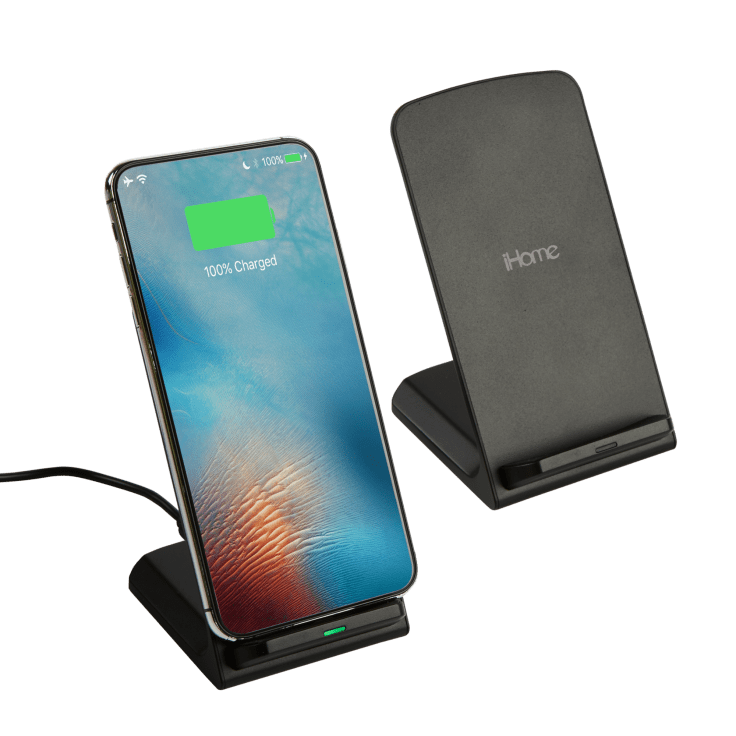 2-Pack iHome Pro Stand 10W Qi Wireless Charger