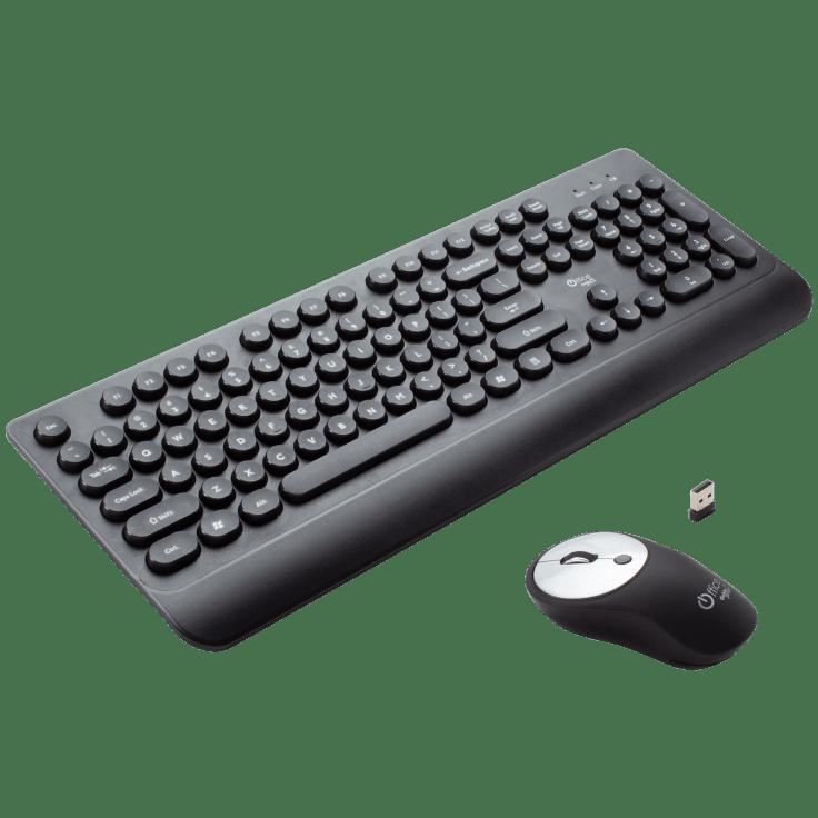 Gabba Goods Wireless Keyboard and Mouse Set