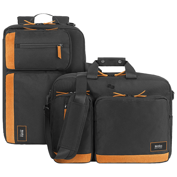 Solo NY Hybrid Convertible Briefcase Backpack