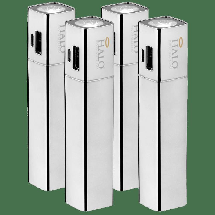 Halo Shine 3000mAh 2-in-1 Flashlight Power Banks