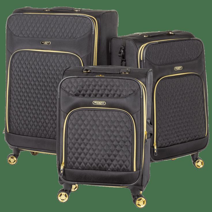 3-Piece Olympia USA Spinner Luggage Set