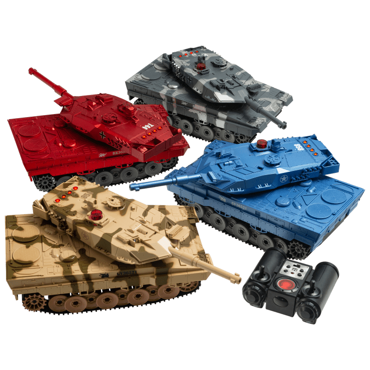 2-Pack Propel RC Battling Laser Tanks