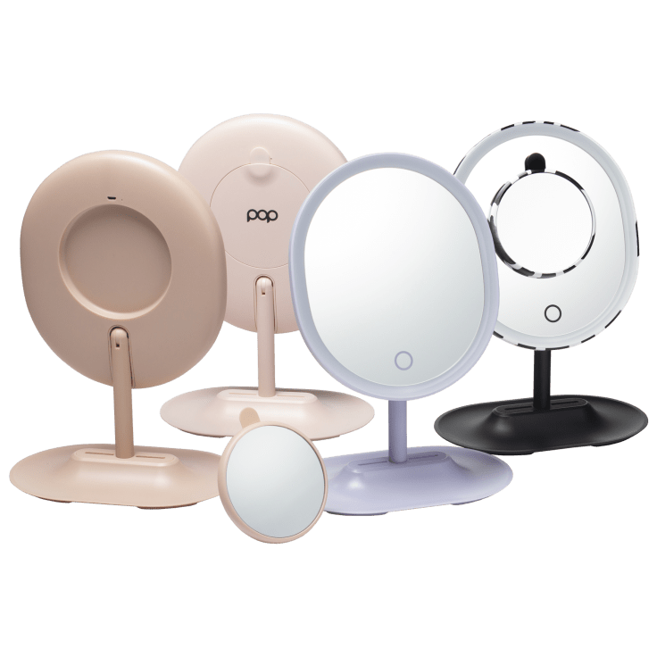 Pop Sonic Rechargeable LED Magnifying Makeup Mirror