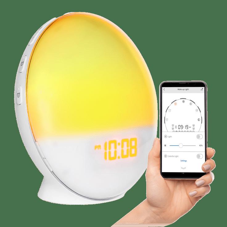 Tech Theory Smartclock & Sunrise Simulation Alarm Clock
