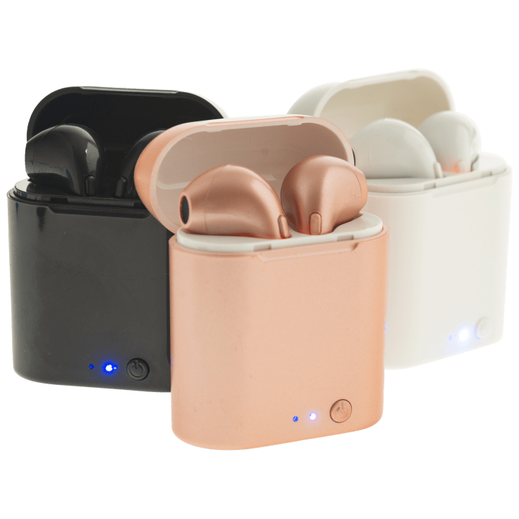 Bluestone True Wireless Echo Earbuds With Wireless Charging Pad