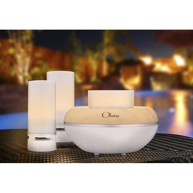 BEM Wireless Ohana Island Twilight Bluetooth Speaker System and Light Bundle
